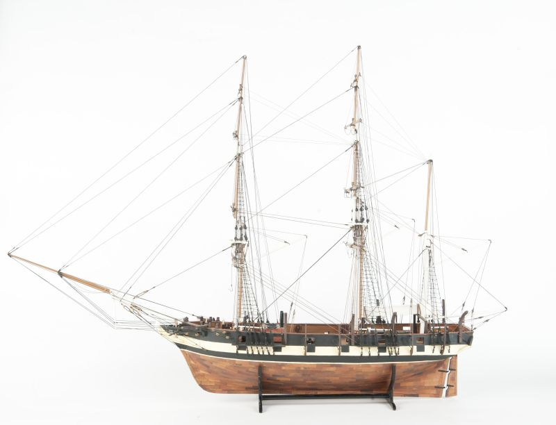 Model of the ship Duke of York