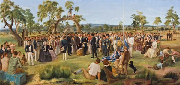 Scene: Proclamation of South Australia